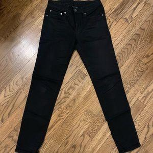 AE stretch skinny jeans 28x32